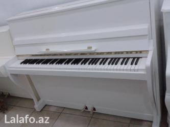Bakı şəhərində Wagner pianosu -  Almaniya istehsalıdır. Orijinal mexanikaya ve güclü