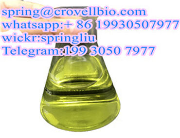 Factory supply Glyoxylic Acid CAS 298-12-4 +86  spring@crovellbio.com