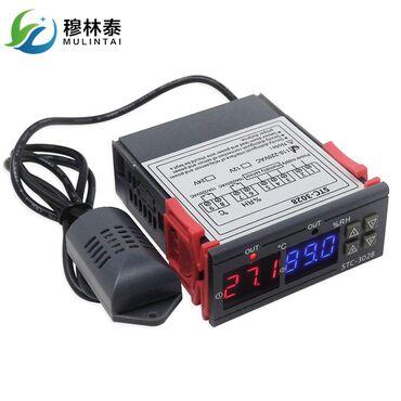 С/х животные - Кара-Суу: Универсальный Терморегулятор STC-3028 контролирует и влажность и
