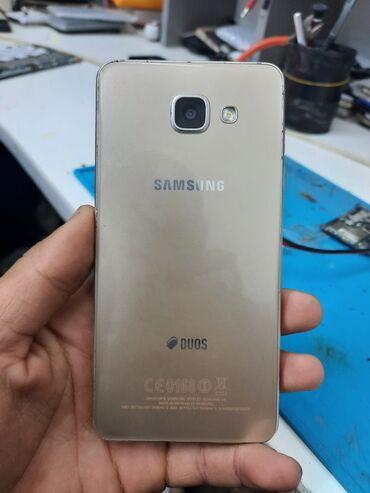 meizu m3 16gb silver в Кыргызстан: Б/у Samsung Galaxy A5 2016 16 ГБ Золотой