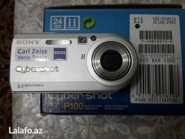 Bakı şəhərində Sony  foto və video kamera dsc-p100  sony cybershot sony memory stick