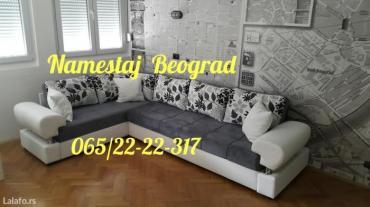 Ugaone garniture na razvlacenje,ostava za posteljinu,modernijeg - Beograd