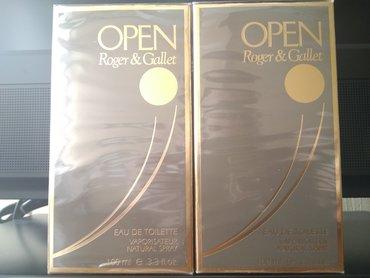 Open Roger & Gallet for men 100 ml
