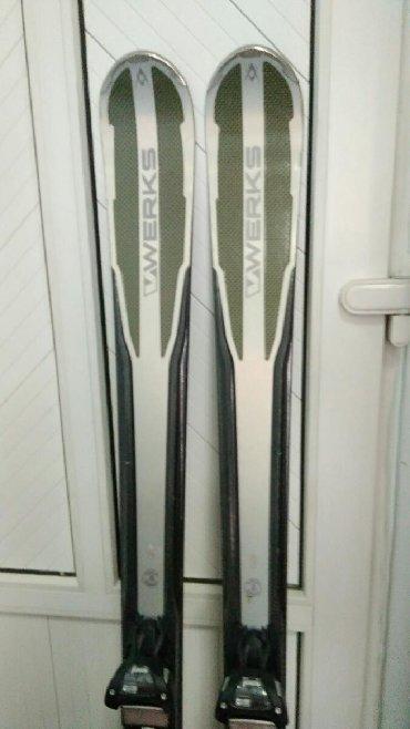 бу лыжи в Кыргызстан: Бу горные лыжи Volkl werks RTM 171 r16.9, 129/84/111, дорогие и