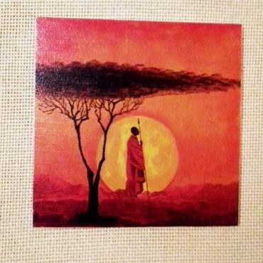 Dekupaž slike (transver slike na drvo),velicine 16,5 x 16,5 prodaja - Jagodina