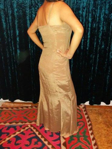 Платье летнее с открытой спиной. Сшито в Бишкек