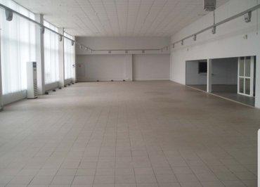 помещение под бизнес на Пишпеке, 242 м2: 11.5м×21м, большой один зал.  в Бишкек