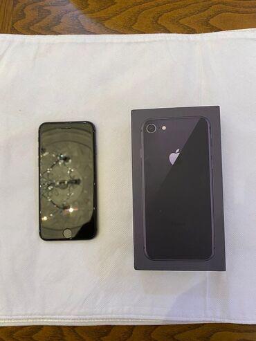 Apple Iphone - Azərbaycan: İşlənmiş iPhone 8 64 GB Boz (Space Gray)