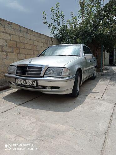 33 elan   NƏQLIYYAT: Mercedes-Benz C 180 1.8 l. 1999