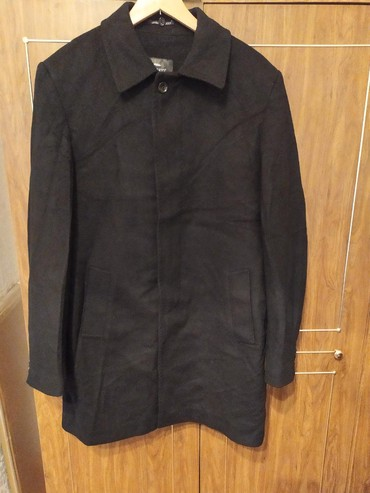мужское пальто черное в Кыргызстан: Мужские пальто M