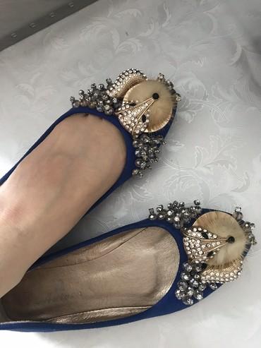 Обувь Балетки замша 36р  в Бишкек