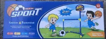 Fenomenalna igracka za vase malisane 2u1. Kosarka i fudbal . Proizvod