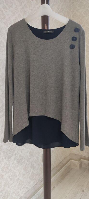 Рубашки и блузы - Кыргызстан: Женская шикарная блуза.Турция.Абсолютно новая.Подойдет на 48 размер