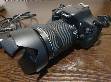 Зарядные устройства для телефонов lenovo - Кыргызстан: Продаю фотоаппарат canon 600D в идеальном состоянии, объектив почти