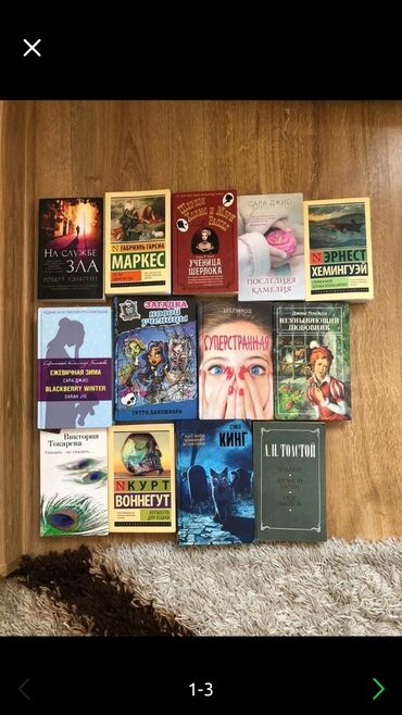продажа книг в бишкеке в Кыргызстан: Продаю Книги!! Состояние новое
