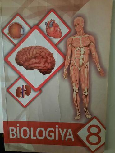 Biologiya 8ci sinif derslik. Şərq-Qərb nəşr. Baki-2015. 176 sehife