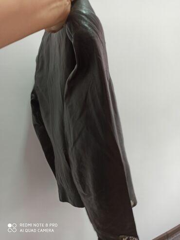 Кожаная куртка новая размер 44 Шуба б/у в хорошем состоянии Пальто