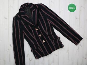 Женский пиджак в полоску Zara Trf, р. S    Длина: 57 см Плечи: 36 см Р