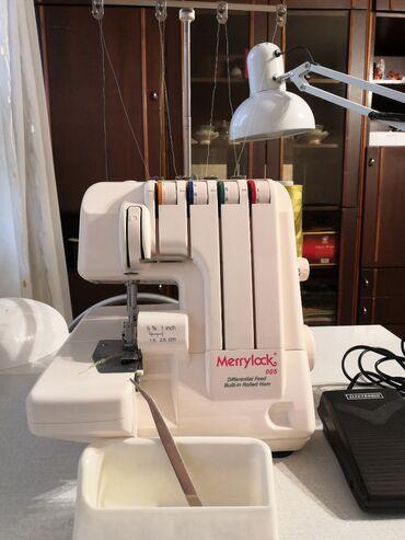 Тип машины: оверлокMerrylock005Б/у Характеристика: производство