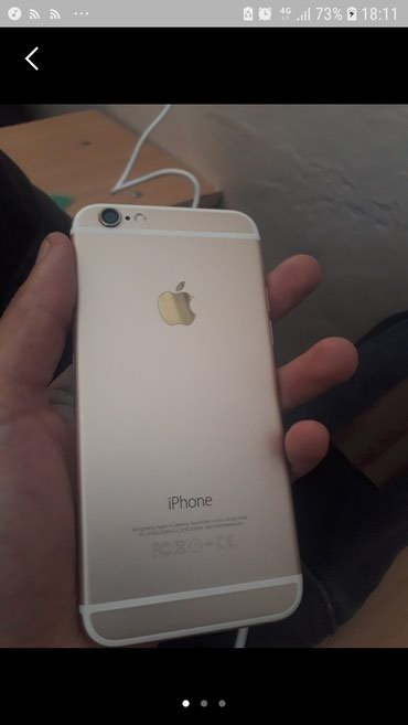 IPhone 6 16 GB gold сост идеал✔ в Бишкек