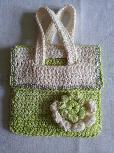 Продаю вязаные сумочки для девочек, можно под мобильный.. Ручная в Бишкек - фото 6