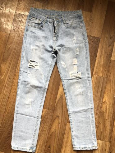 Женские джинсы бойфренд размер s