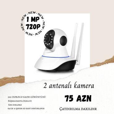 viza v tailand в Азербайджан: Wifi Smart Kamera Bu qiymət yalnız 2 antenalı kameralarımıza aiddir. D