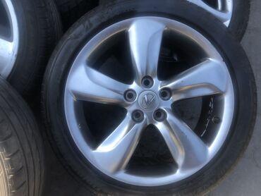 Продаю диски+шины лето от GS350 2008 года рестайлинга остаток шин 97%