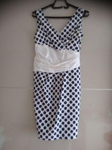Haljine - Pirot: Prelepa haljina za leto, poslovna varijant Veličina 38