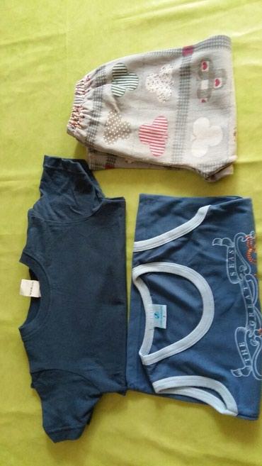 Dve majice i pantalonice za decaka vel.2-3god.polovne i ocuvane,sve - Petrovac na Mlavi