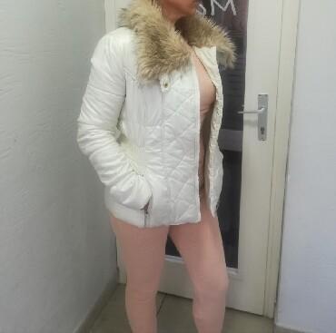 Zimska jakna ds prelepim krznom vel S M SNIŽENJE povoljno Rasprodaja - Batajnica