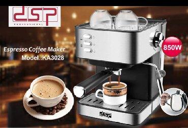 кофемашина риоба в Кыргызстан: Кофемашина DSP KA3028  Технические характеристики  Марка: DSP  Емкость