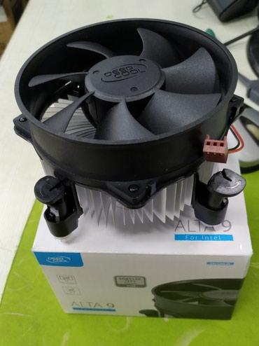 Системы охлаждения - Кыргызстан: Вентилятор на процессор DEEPCOOL ALTA-9 LGA 115X/775. Новый. Все