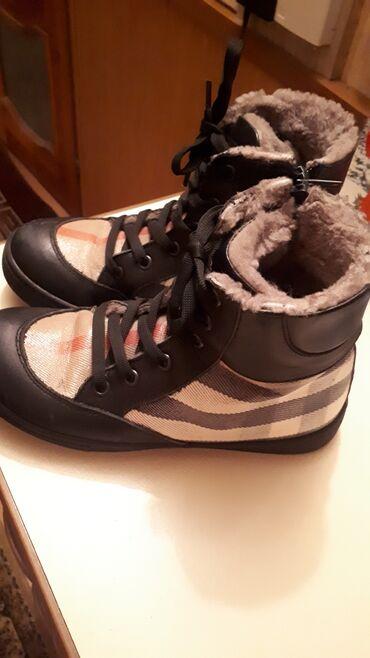 Очень теплые ботинки Burberryпокупали в Обувайке