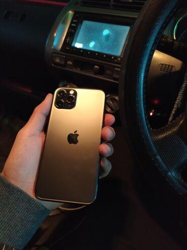 купить бу iphone 11 pro в Кыргызстан: Б/У IPhone 11 Pro 64 ГБ Черный