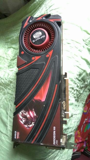 акустические системы celsus sound в Кыргызстан: Продаю видеокарту Sapphire PCI-Ex Radeon R9 290X 4096MB GDDR5