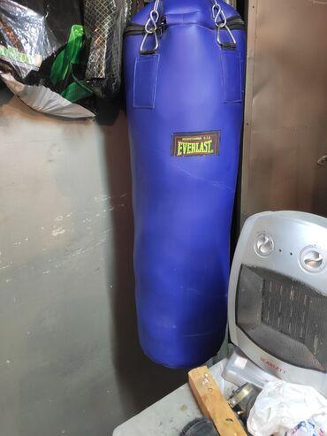 боксерская груша бишкек in Кыргызстан   ПЕРЧАТКИ: Продаю новую боксёрскую грушу, высота 1 метр. Цена окончательная, без