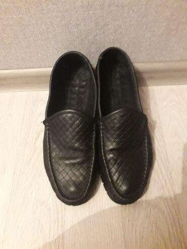 Женская обувь - Кыргызстан: Продаю срочно макасы туфли размеры 42.кожа все три пары подряд отдам