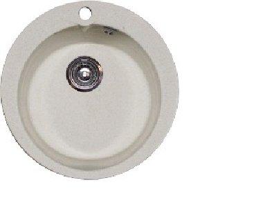 Кухонные мойки в Кыргызстан: Мойка GF-R450 пес 450ммГранд фест, РОССИЯ, Камень,размер 44см/44смНаш