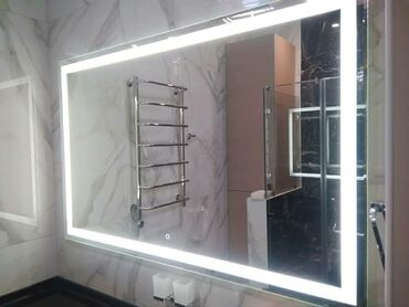 зеркало в комнате в Кыргызстан: ⚜Зеркала с подсветкой сейчас очень сильно популярны. Они могут быть