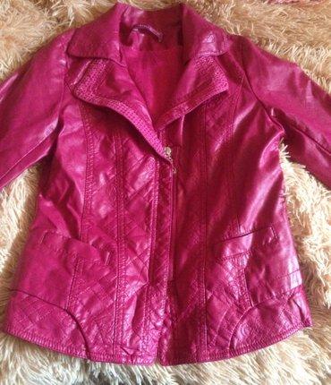Куртки кожаные на девочку 6 - 7 лет. Одели два раза на выход. Отличное