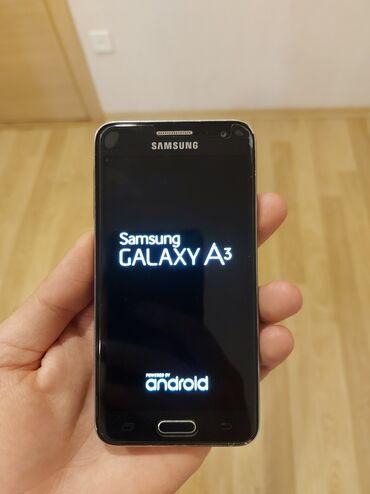 Samsung galaxy note - Азербайджан: Б/у Samsung Galaxy A3 16 ГБ Синий