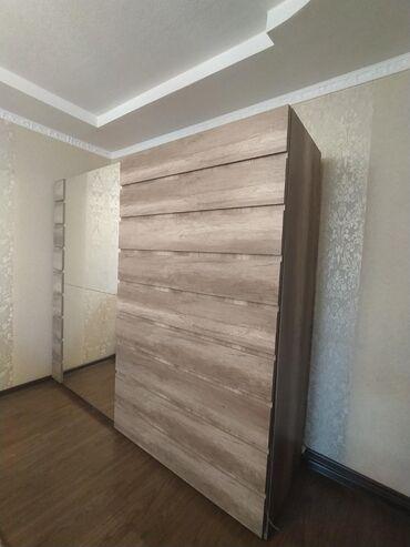 Спальный гарнитур (Европа), шкаф купе, 2 тумбочки, комод с зеркалом