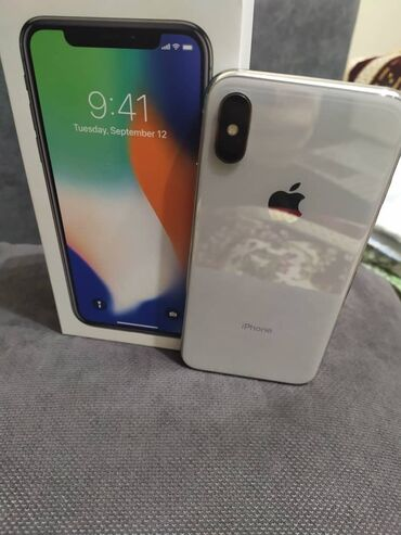 Внимание внимание ️️️️️ iPhone X 64 GB без Face ID  Состояние : 10/9 В