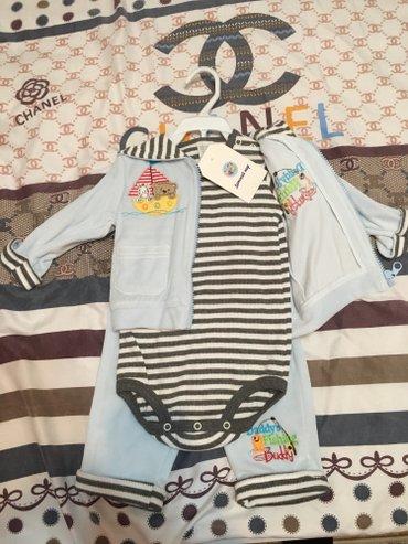 9-12мес новый костюм!  в Бишкек