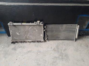 Радиатор основной-2500с и кондиционера-1200с на субару SG5 в Бишкек
