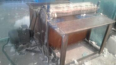 Оборудование для бизнеса в Кара-Суу: Станок кыркынды синтафон жун тытат сатына 50кг чыгарат заводской стано