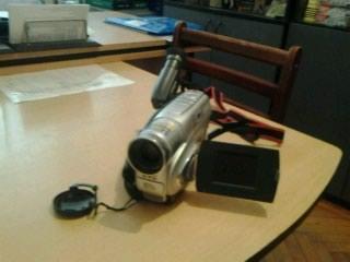 Bakı şəhərində JVC videokamerasi. Az islenib. Cuzi endirim olar. Qabi temiz