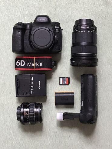 Продаю Canon 6d mark IIВ комплекте:1. Батарейки х22. Флешка 16г3