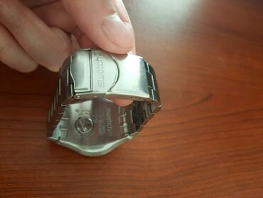 Gümüşü Kişi Qol saatları Swatch